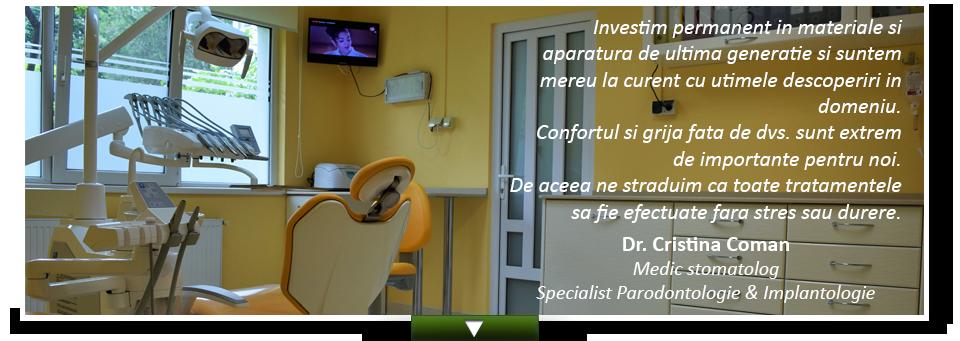 Medic Stomatolog Specialist Ploiesti - Cristina Coman