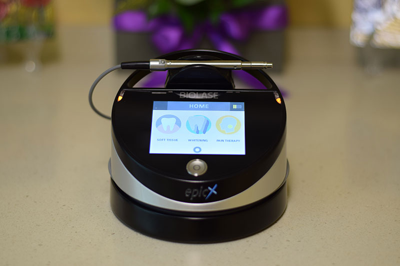 Clinica Ogodent - laser stomatologic - albire cu laser